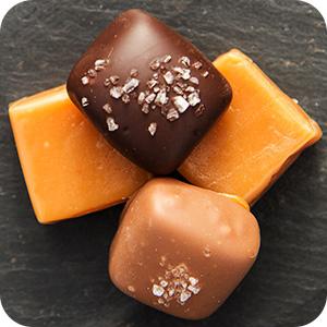 Sea Salt Caramels - Assorted Milk and Dark Chocolate
