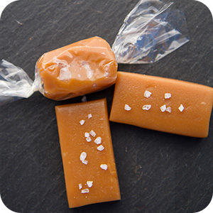 Sea Salt Caramels - Wrapped