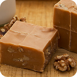 Fudge - Penuche Walnut