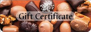 Priscilla Candy Shop Gift Certificate