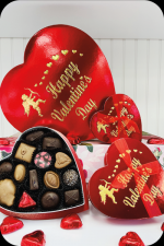 Assorted Chocolates Heart Box