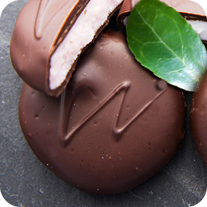 Chocolate Wintergreen Patties